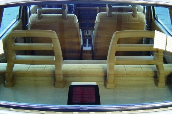 Volvo 240 and its interior   confluenceny
